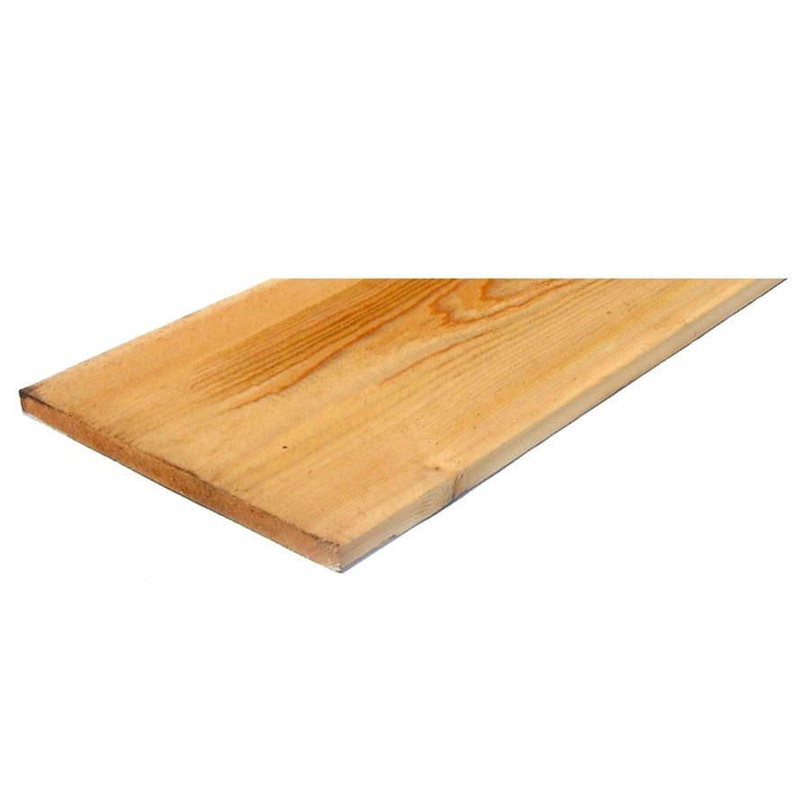 (Common: 1-in x 12-in x 12-ft; Actual: 0.75-in x 11.25-in x 12-ft) Cedar Board
