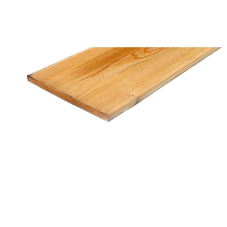Cedar Board (Common: 1-in x 12-in x 14-ft; Actual: 0.75-in x 11.25-in x 14-ft)