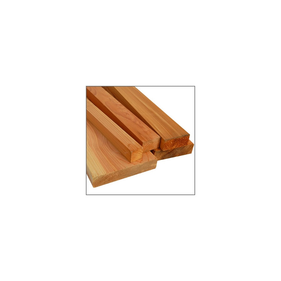 Top Choice Rough Cedar Lumber (Common: 2-in x 2-in x 16-ft; Actual: 1-1/2-in x 1-1/2-in x 16-ft)