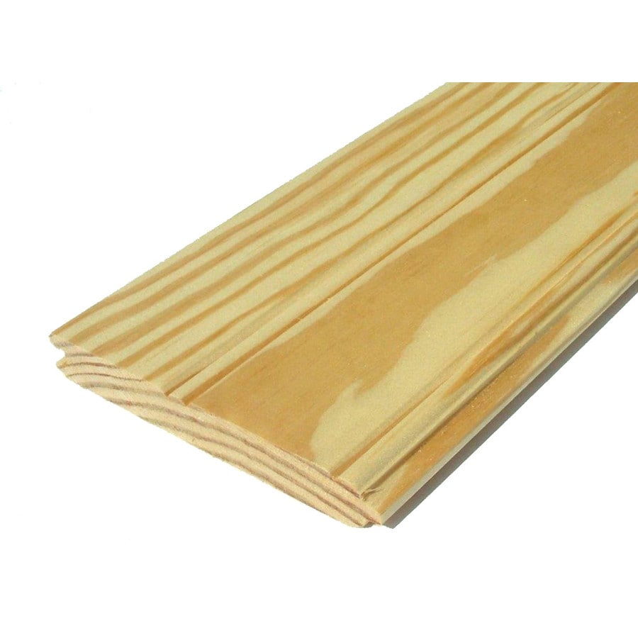 Southern Yellow Pine Untreated Wood Siding Panel (Common: 1-in x 6-in x 96-in; Actual: 0.75-in x 5.5-in x 96-in)