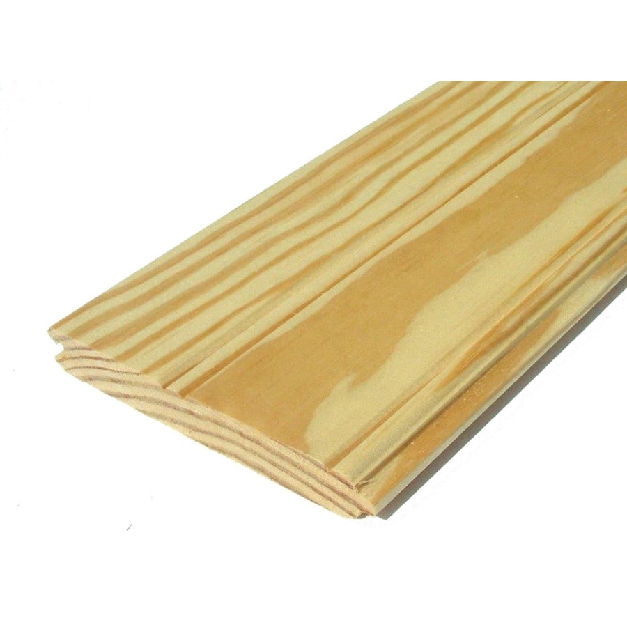 Southern Yellow Pine Untreated Wood Siding Panel (Common: 1-in x 6-in x 120-in; Actual: 0.75-in x 5.5-in x 120-in)