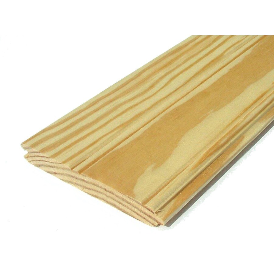 Southern Yellow Pine Untreated Wood Siding Panel (Common: 1-in x 6-in x 168-in; Actual: 0.75-in x 5.5-in x 168-in)