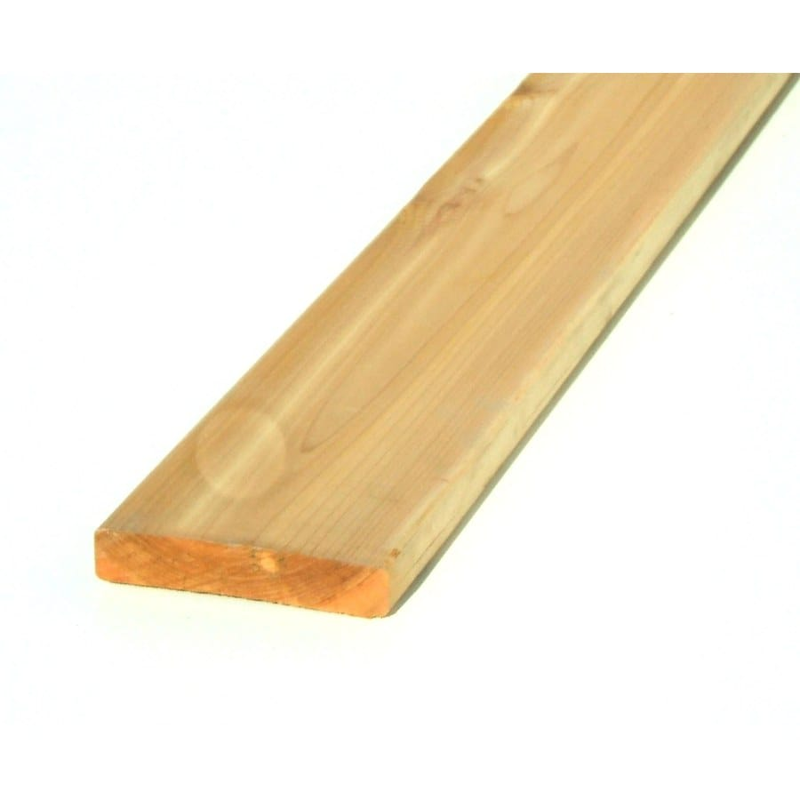 (Common: 1-in x 8-in x 16-ft; Actual: 0.75-in x 7.25-in x 16-ft) Cedar Board