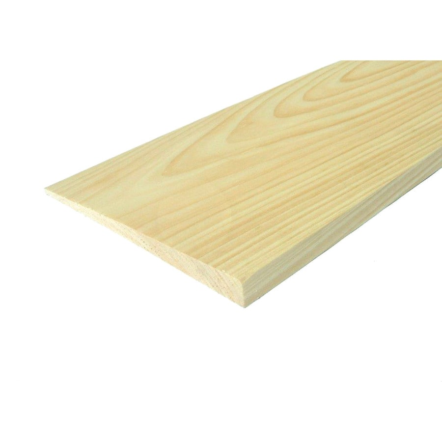 Eastern White Pine Untreated Wood Siding Panel (Common: 1-in x 8-in x 24-in; Actual: 0.6875-in x 7.25-in x 24-in)
