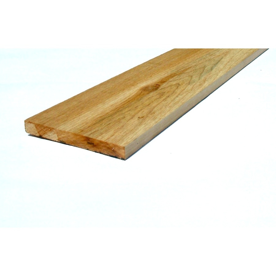 Top Choice Cedar Board (Common: 1-1/4-in x 4-in x 12-ft; Actual: 1.25-in x 7.25-in x 12-ft)