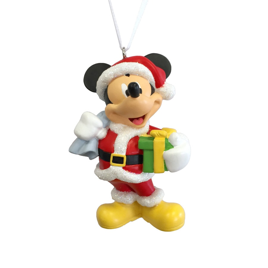 Hallmark Red White Yellow Black Mickey Mouse Ornament