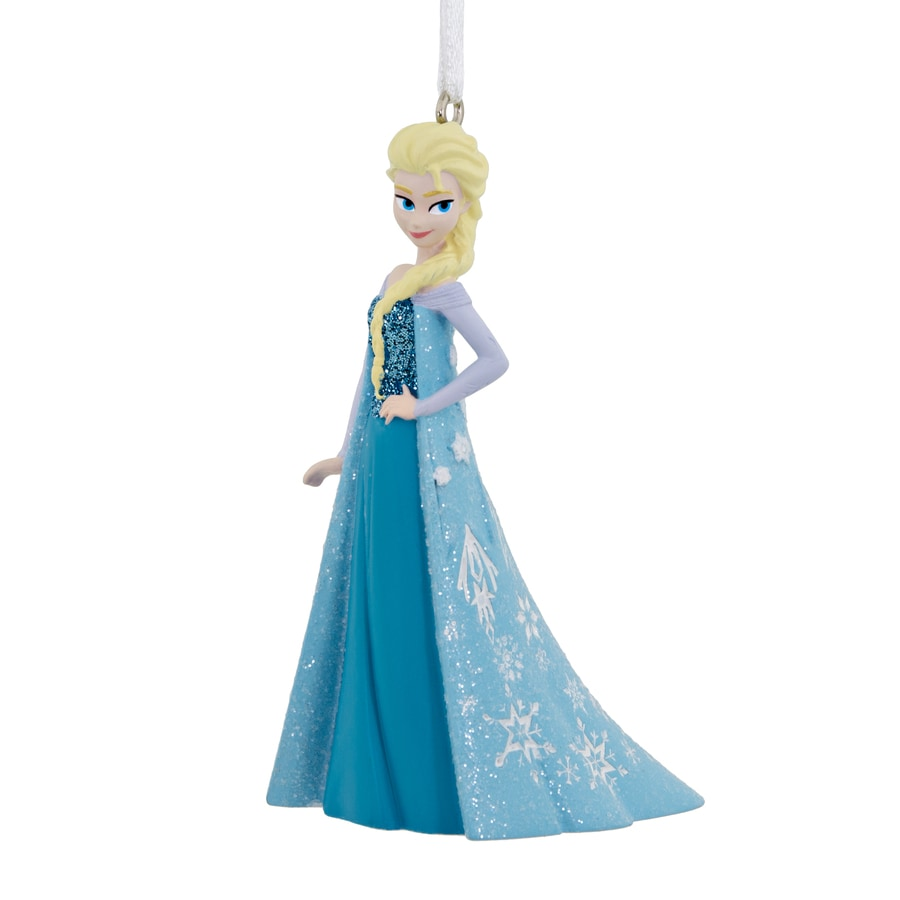 Hallmark Light Blue Elsa Ornament