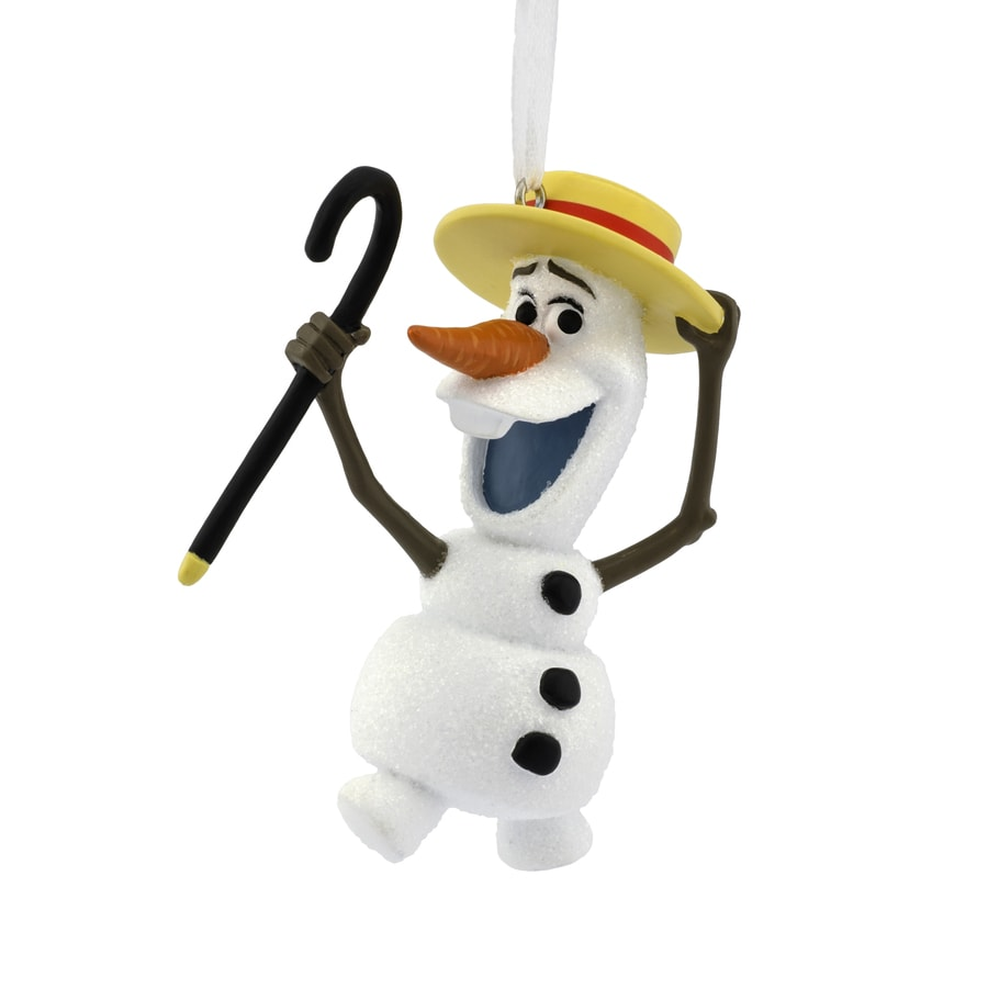 Hallmark Snow White Olaf The Snowman Ornament