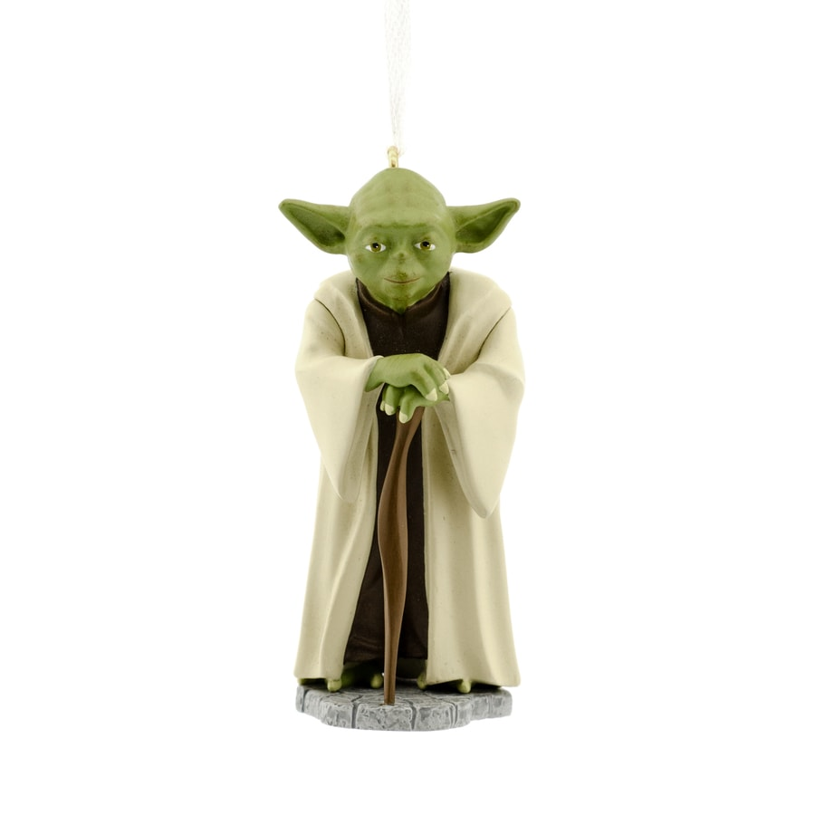 Hallmark Dark Green Yoda Ornament