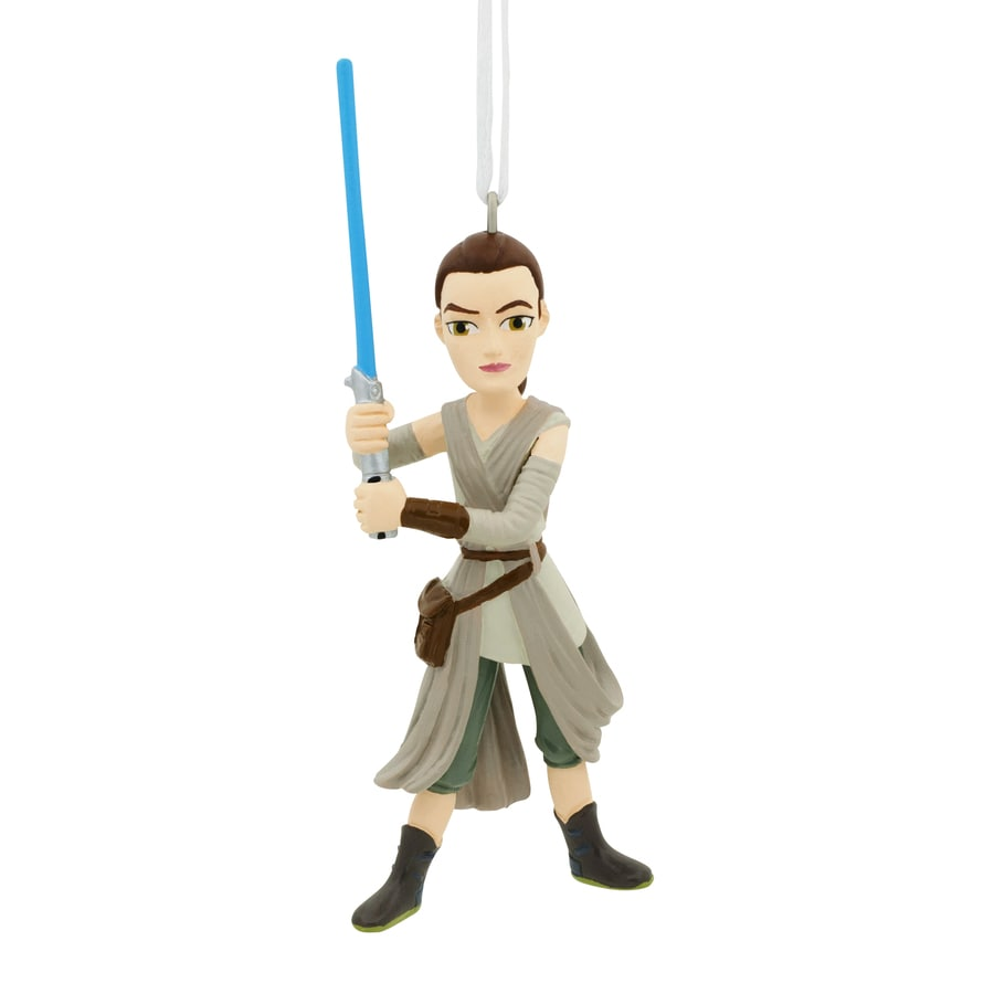 Hallmark Star Wars Gray Rey Ornament