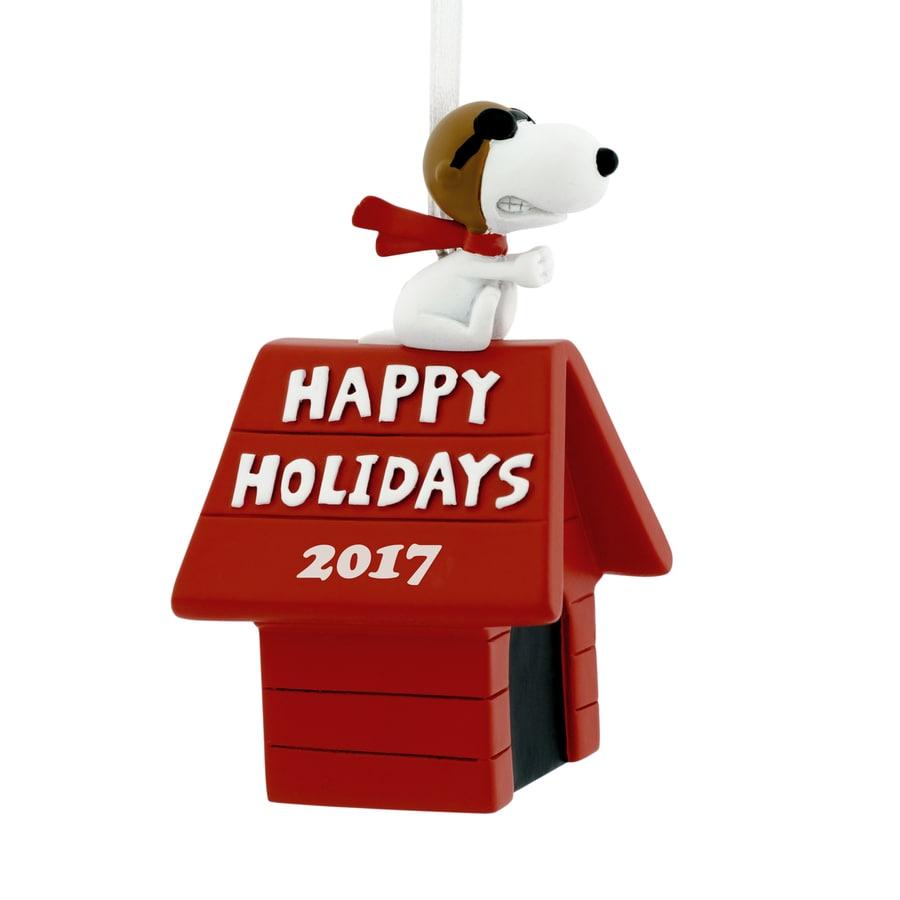 Hallmark Peanuts Red Snoopy Ornament