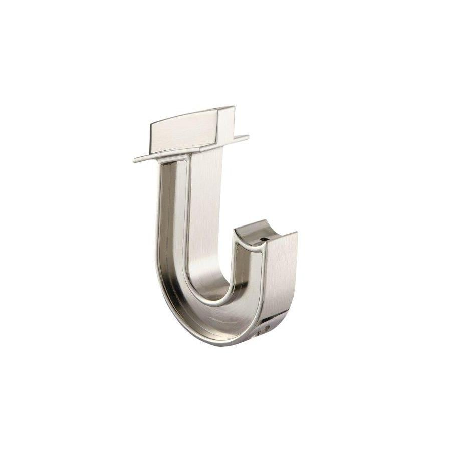 allen + roth Brushed Nickel Pole Hanger Bracket
