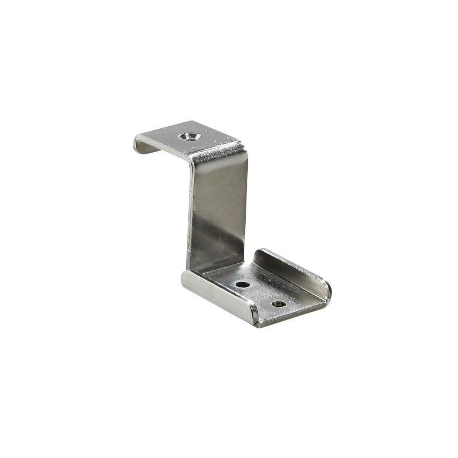allen + roth Brushed Nickel Ventilated Shelf Corner Bracket
