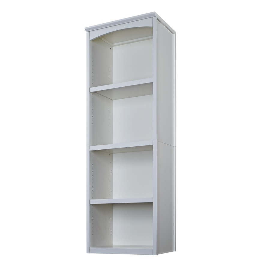 Lowes wire shelving systems for closets - Allen Roth 76 In Antique White Wood Closet Tower
