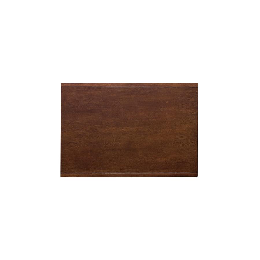 allen + roth 21-in x 16-in Java Wood Closet Shelf