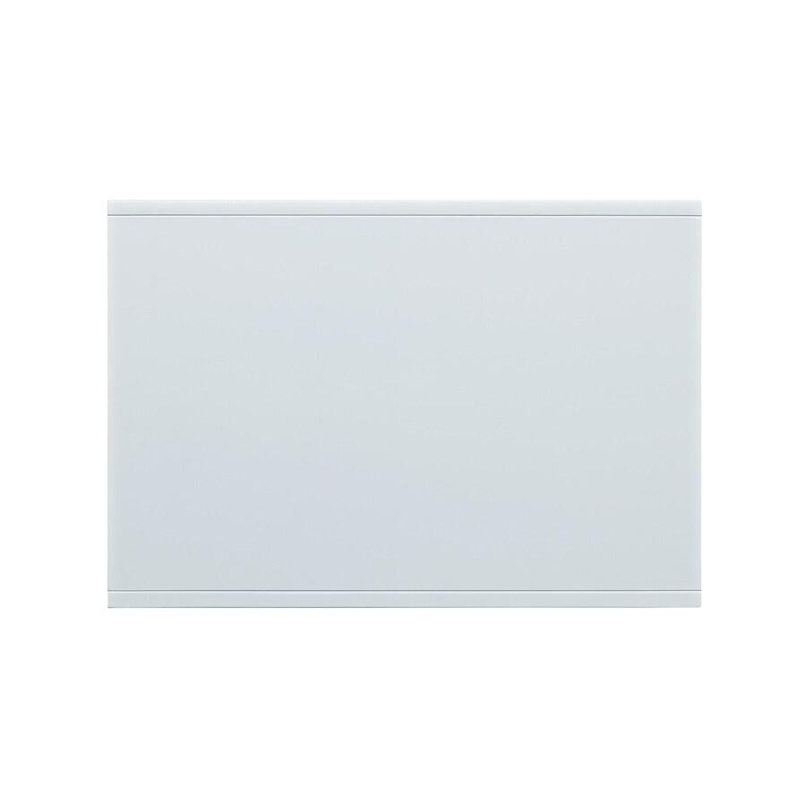 Allen Roth 21 In X 16 White Wood Closet Shelf