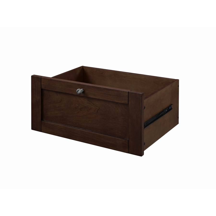 allen + roth Sable Wood Drawer Unit