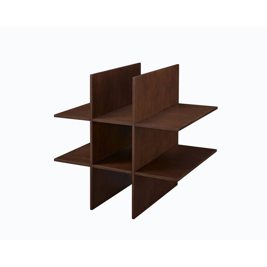 Allen + Roth Sable Wood Shoe Storage