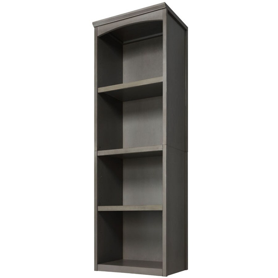Allen Roth 76 In Rustic Gray Wood Closet Tower