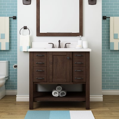 Single Sink Bathroom Vanities At Lowes Com