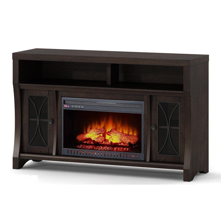 Whalen 56 In W Java Fan Forced Electric Fireplace At Lowes Com