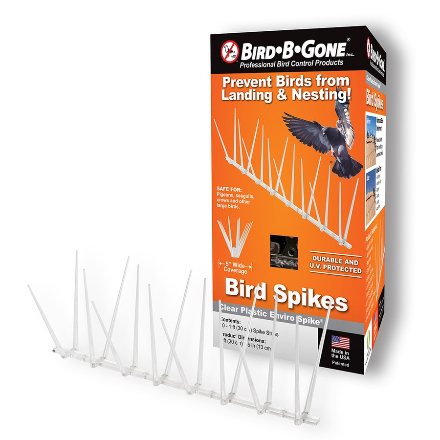 Bird-B-Gone 10-Count Bird Repellent Spikes