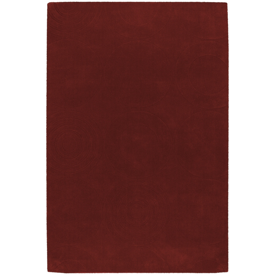 Artistic Weavers Mystique 8-ft x 11-ft Rectangular Red Solid Area Rug