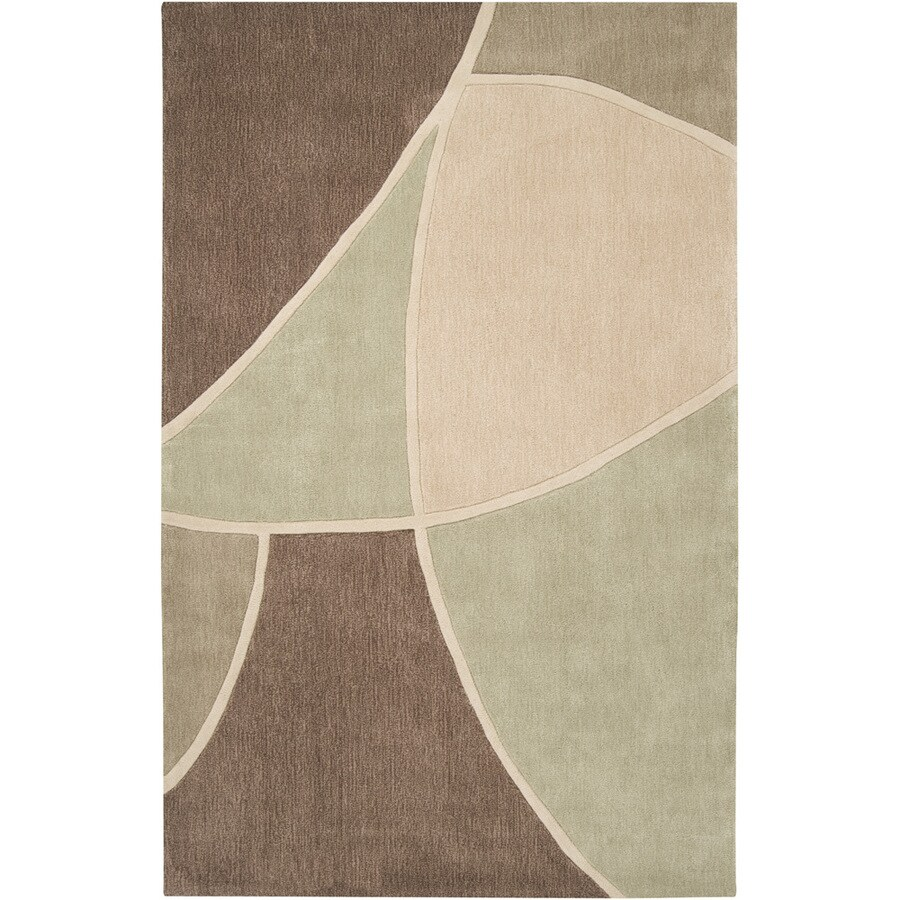 Artistic Weavers Telford Ivory Rectangular Indoor Tufted Area Rug (Common: 5 x 8; Actual: 60-in W x 96-in L x 1.7-ft Dia)