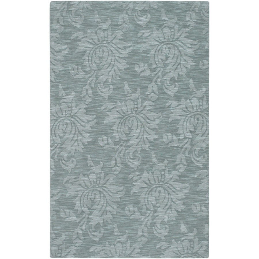 Artistic Weavers Canterbury Rectangular Blue Solid Tufted Area Rug (Common: 8-ft x 11-ft; Actual: 8-ft x 11-ft)
