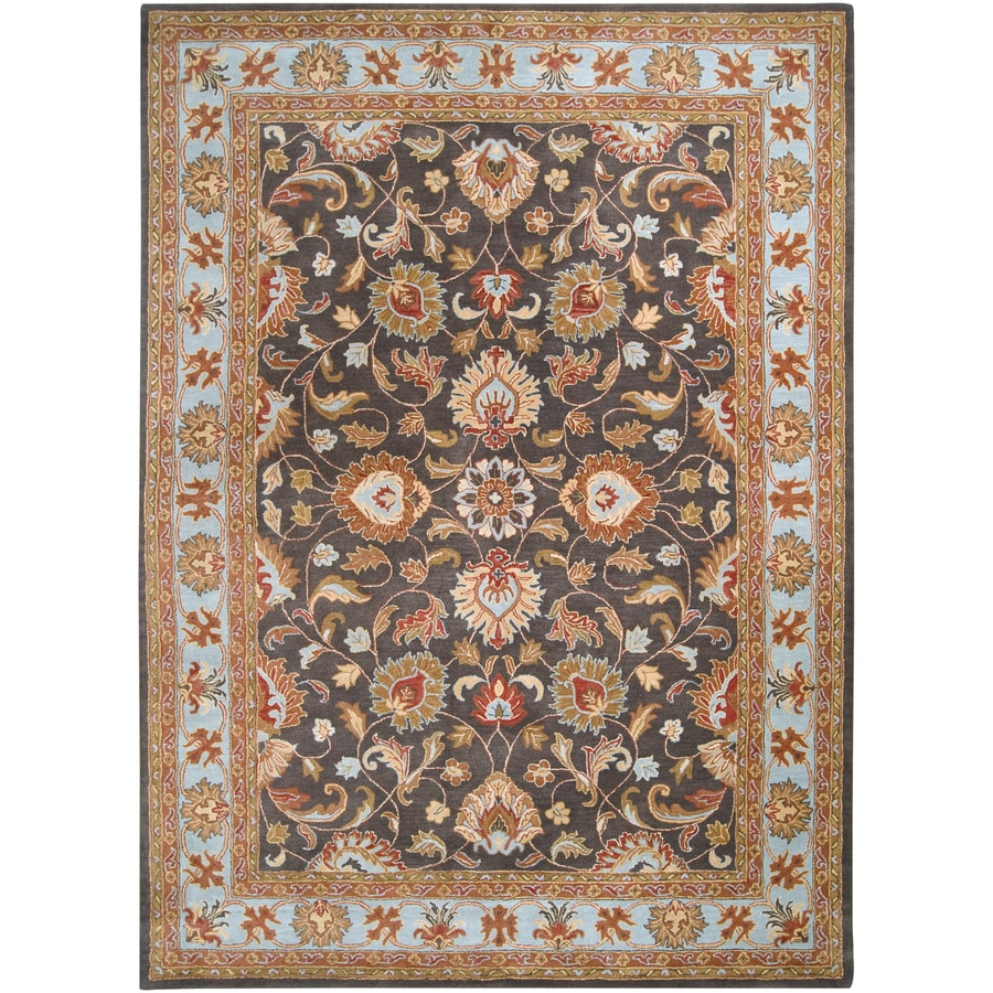Artistic Weavers Caesar 7-ft 6-in x 10-ft 6-in Rectangular Gray Border Area Rug