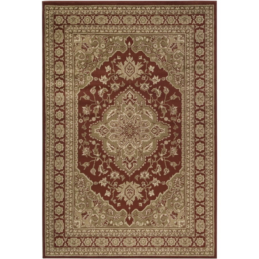 Artistic Weavers Mali 7-ft 9-in x 11-ft 2-in Rectangular Cream Floral Area Rug