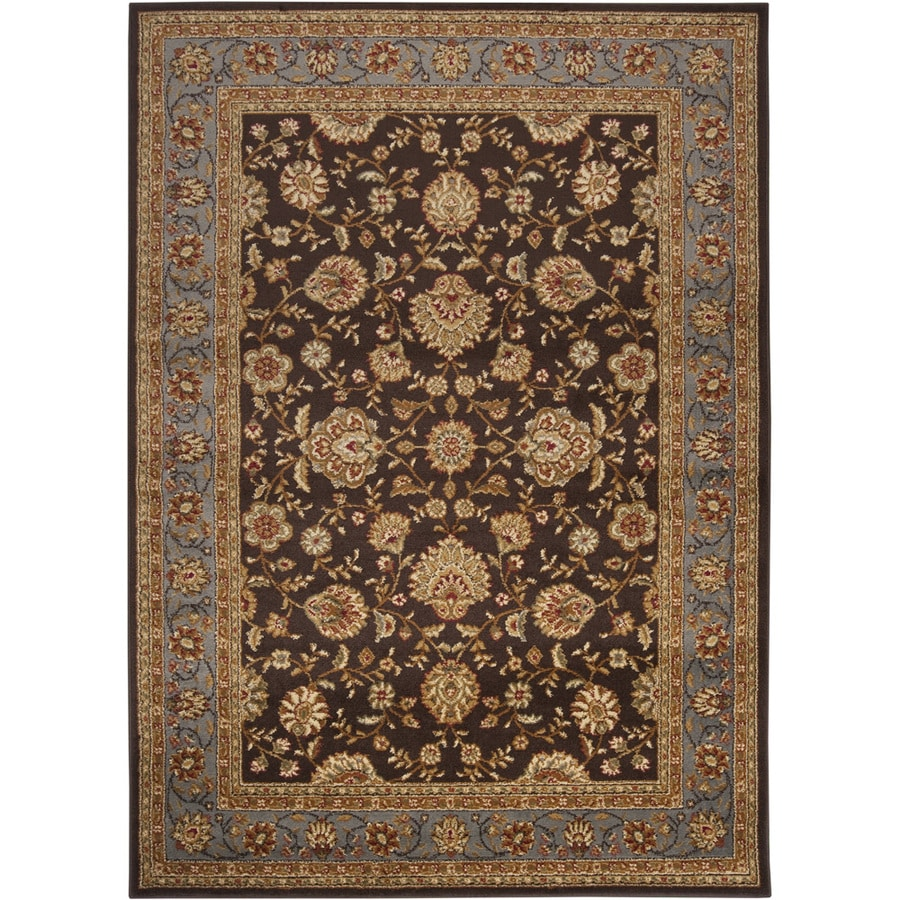 Artistic Weavers Morwell Brown Rectangular Indoor Woven Area Rug (Common: 5 x 8; Actual: 63-in W x 87-in L x 1.8-ft Dia)