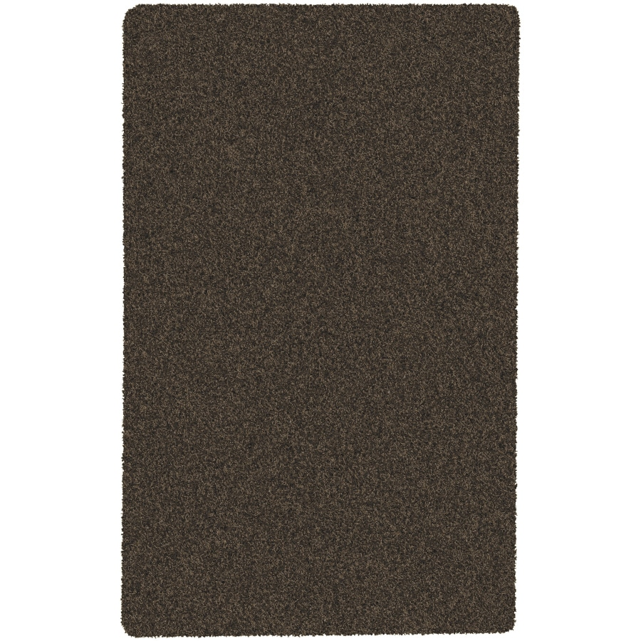 Artistic Weavers Crinkle Brown Rectangular Indoor Woven Area Rug (Common: 5 x 8; Actual: 60-in W x 96-in L x 1.7-ft Dia)
