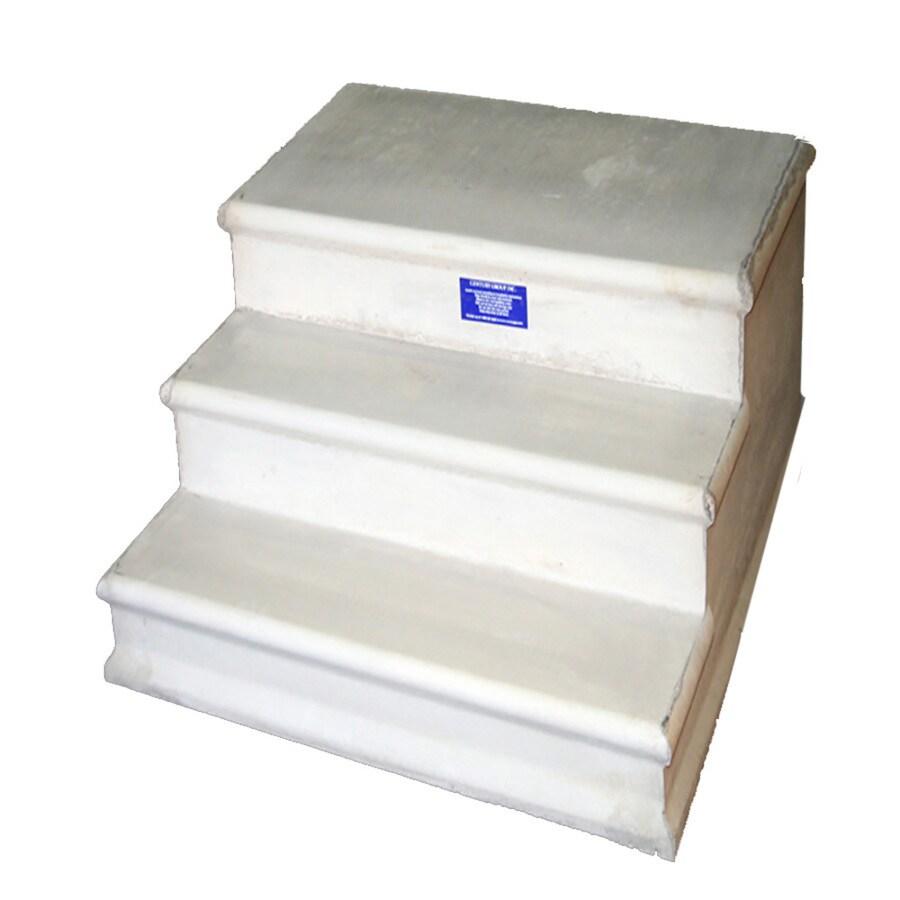 Century Group Inc. (Common: 48-in x 21-in x 44-in; Actual: 48-in x 21-in x 44-in) Bullnose Concrete Block