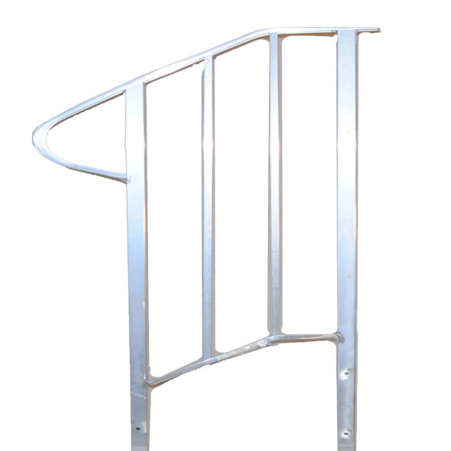 Century Group Inc. 14.75-in x 4.583-ft Aluminum Handrail