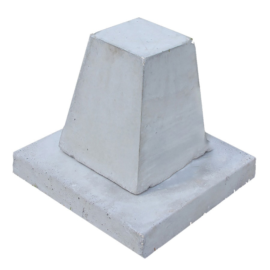 Century Group Inc. (Common: 10-in x 16-in x 10-in; Actual: 10-in x 16-in x 10-in) Standard Concrete Block