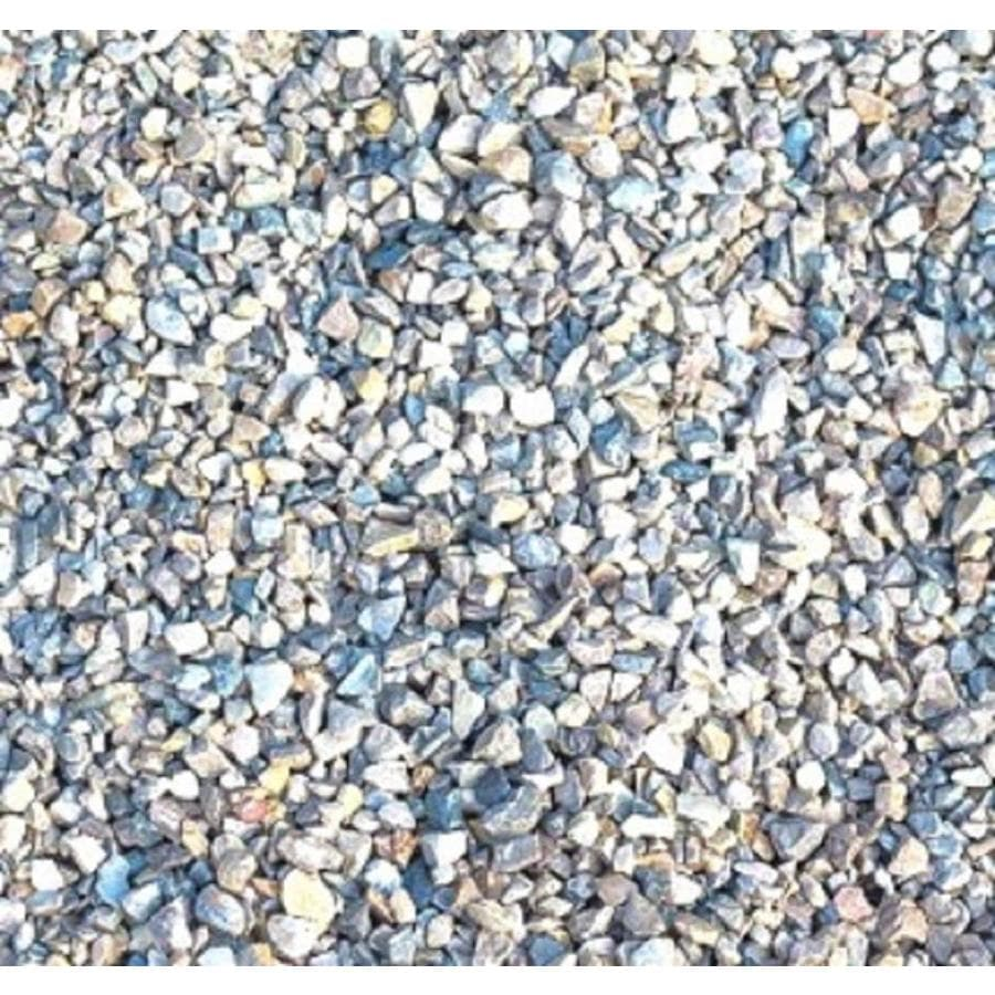 Shop sakrete yard pea gravel at for Smooth river rocks for landscaping