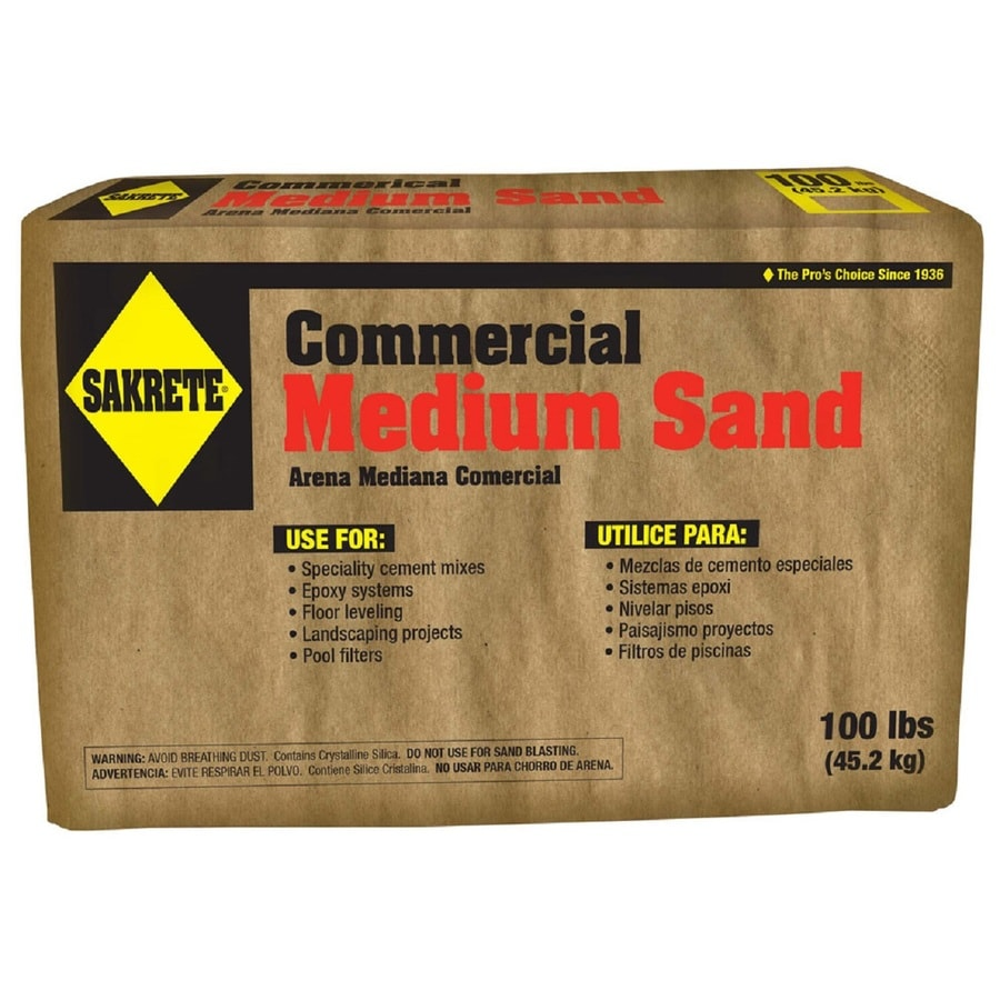 100-lb Commercial Grade Medium Sand