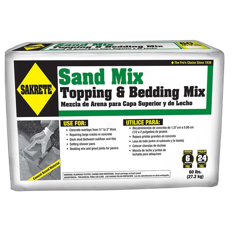 Sakrete Sand Mix 60-lb Gray High Strength Concrete Mix