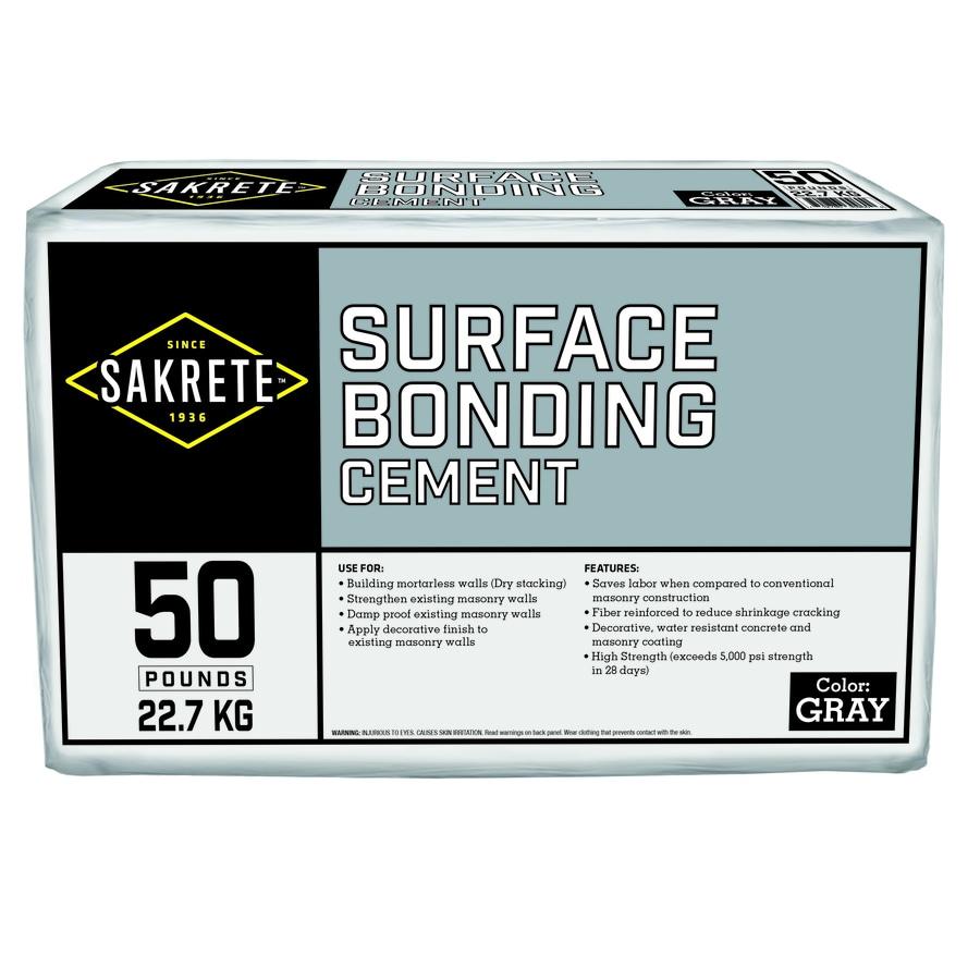 Sakrete Surface Bonding 50-lb Gray Type- Cement Mix
