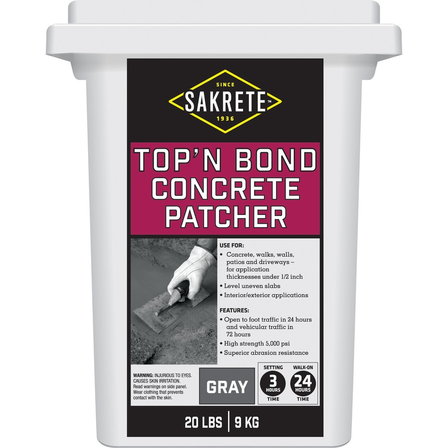 Sakrete Top N Bond 20-lbs Vinyl Concrete Patch