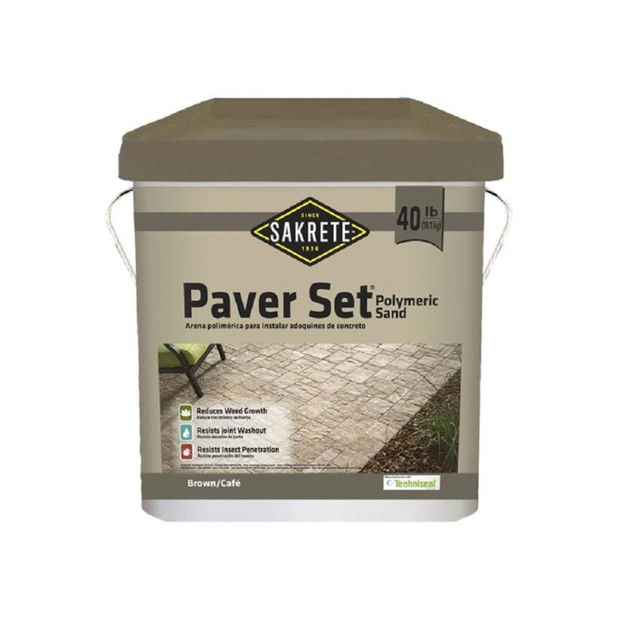 Sakrete 40 Pound(S) Tan/Brown Polymeric Sand