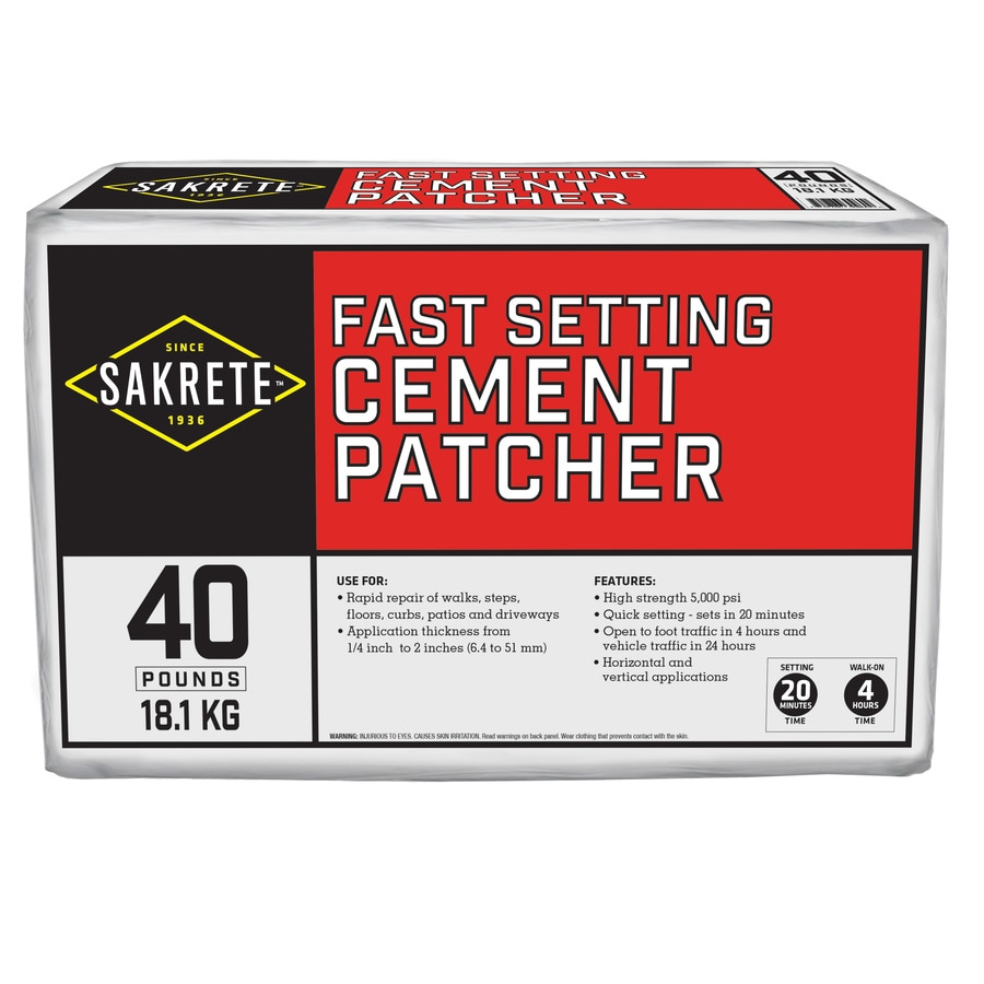 Oldcastle Fast Setting 40-lbs Cement Concrete Patch