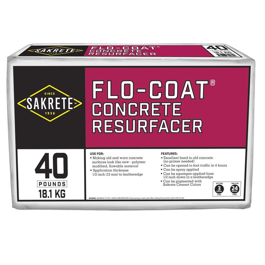 Sakrete Flo-Coat 40-lb Cement Concrete Patch