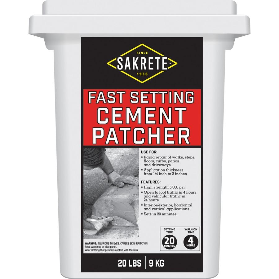 Sakrete Fast Setting 20-lb Cement Concrete Patch