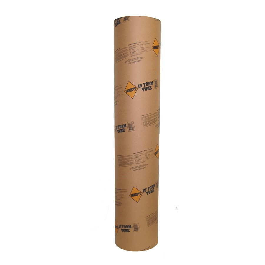 Sakrete (Common: 18-in; Actual: 17.625-in) 48-in Concrete Tube Form