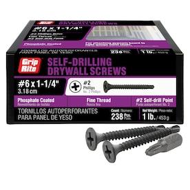 Hard-to-Find Fastener 014973501518 501518 Sheet-Metal-Screws Black 35 Piece