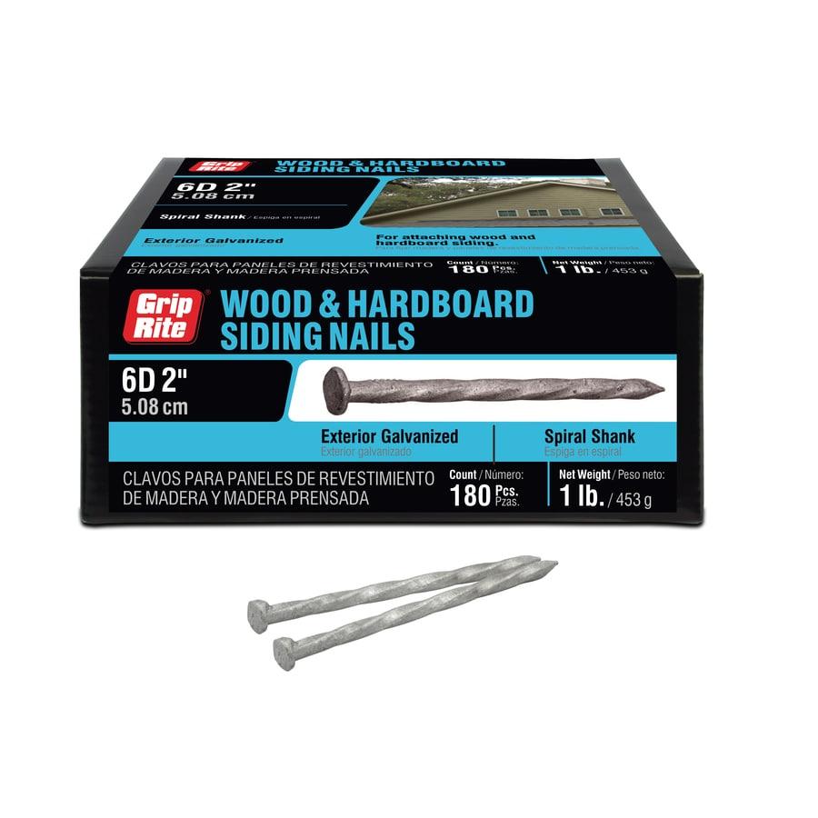 Grip Rite 1 Lb 6 Gauge 2 In Galvanized Hardboard Siding