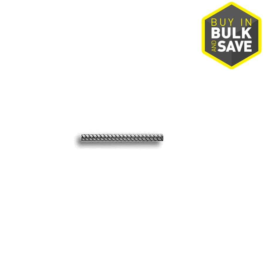 Grip-Rite Steel Rebar (Common: 0.5-in x 20-ft; Actual: 0.5-in x 20 Feet)