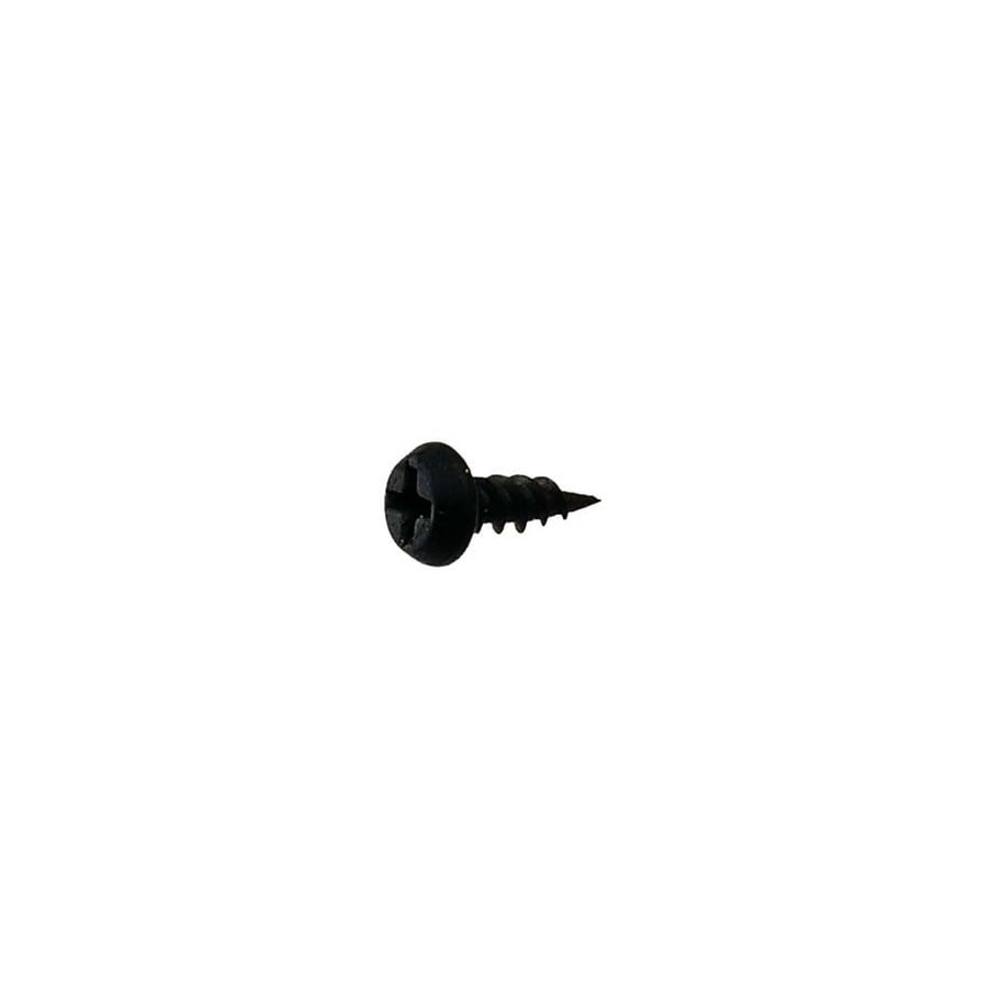 1-lb #7 x 0.4375-in Black Phosphate Standard Phillips-Drive Interior Standard (SAE) Sheet Metal Screw